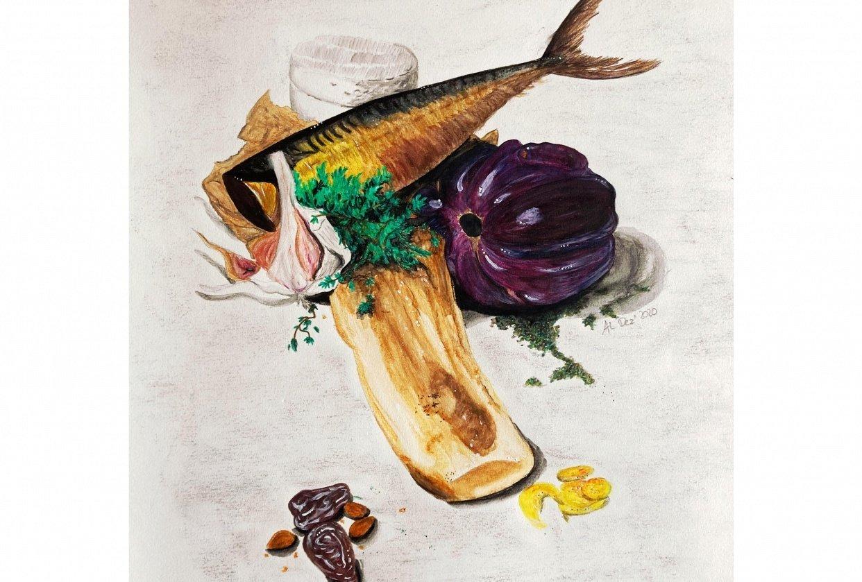 Food Still Life - student project