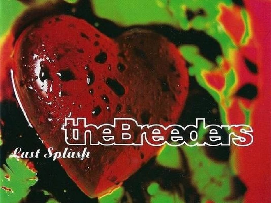 The Breeders - Last Splash in its entirety, LIVE in Detroit Gigposter - student project