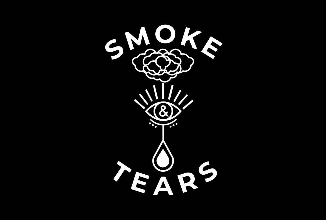 Smoke & Tears Logo - student project