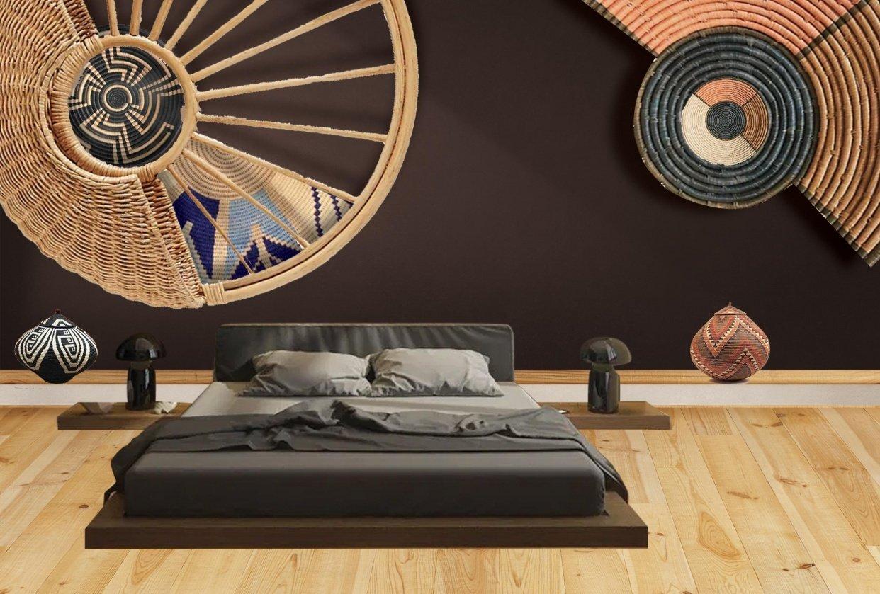 My ethnic bedroom - student project
