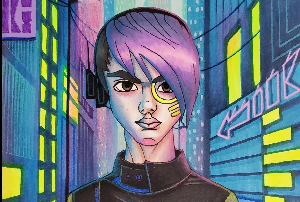 Cyber Punk - student project