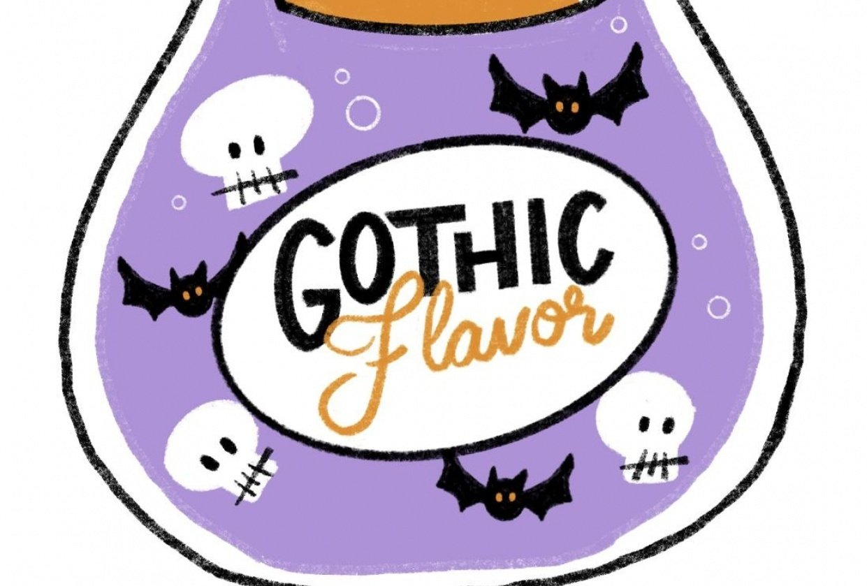 Gothic flavor - student project