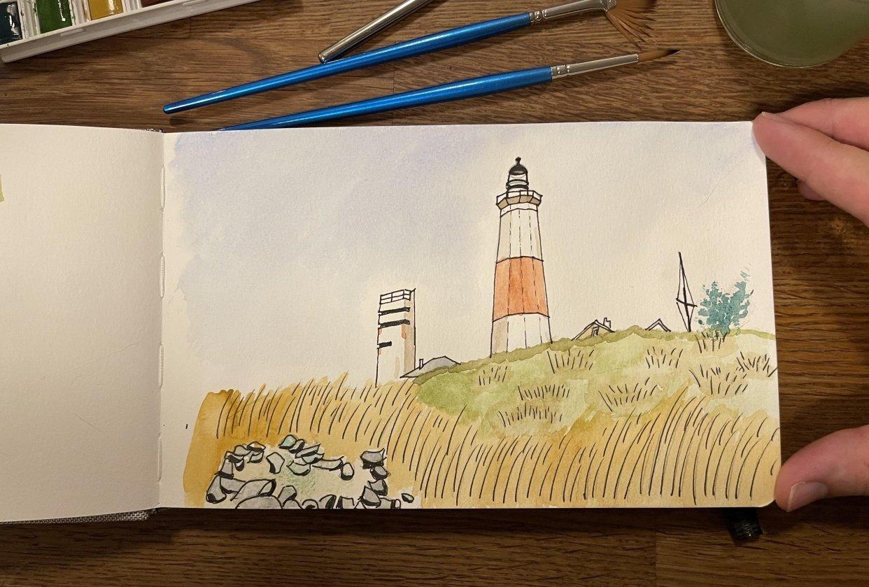 Montauk Lighthouse - student project
