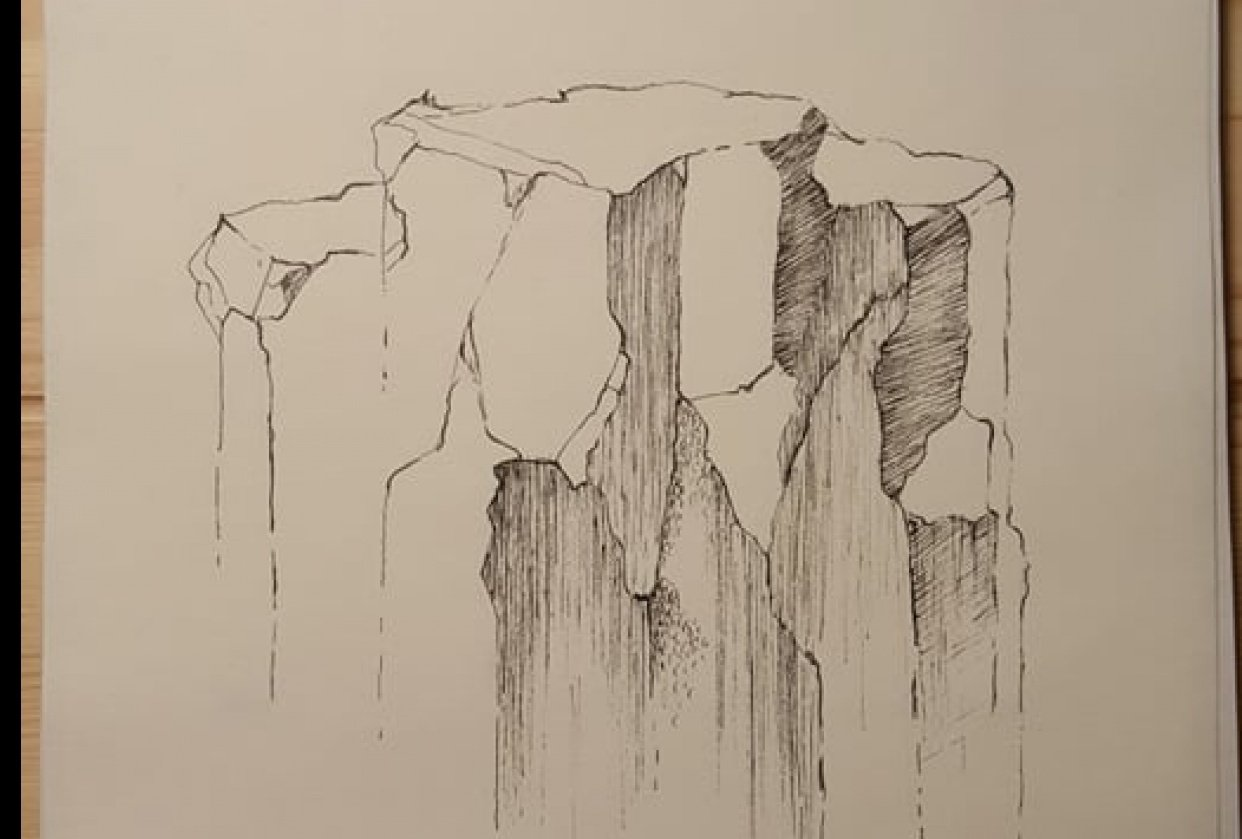 Fineliner Drawing - student project