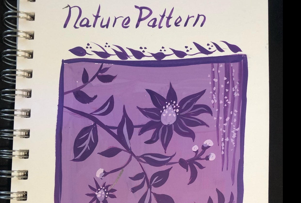 Nature Pattern - student project