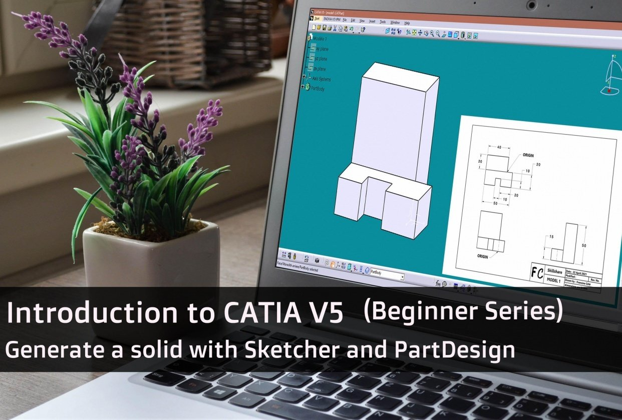 Introduction to CATIA V5 - student project