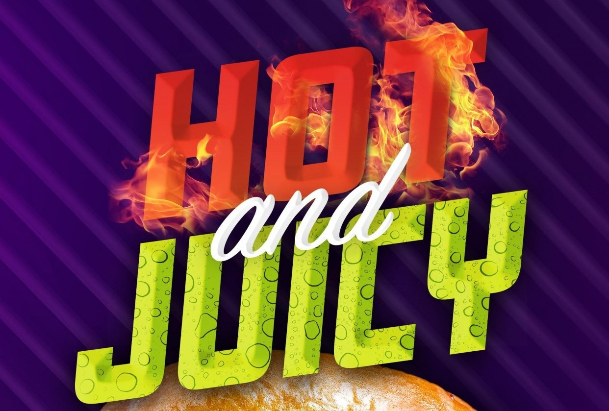 Hot & Juicy Ad - student project