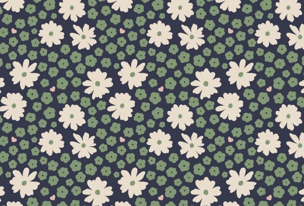 Pattern Design: From Sketch to Repeat Pattern - student project