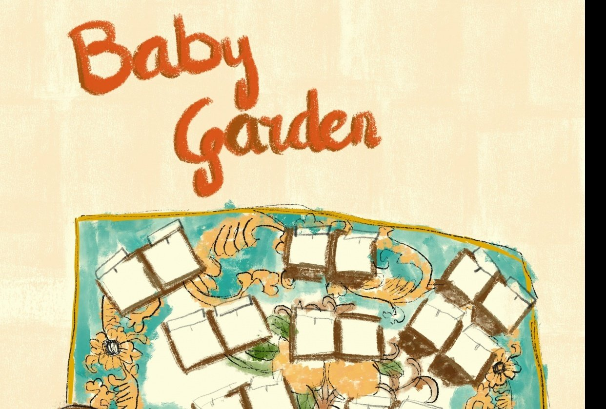 Baby Gardening Infograph - student project