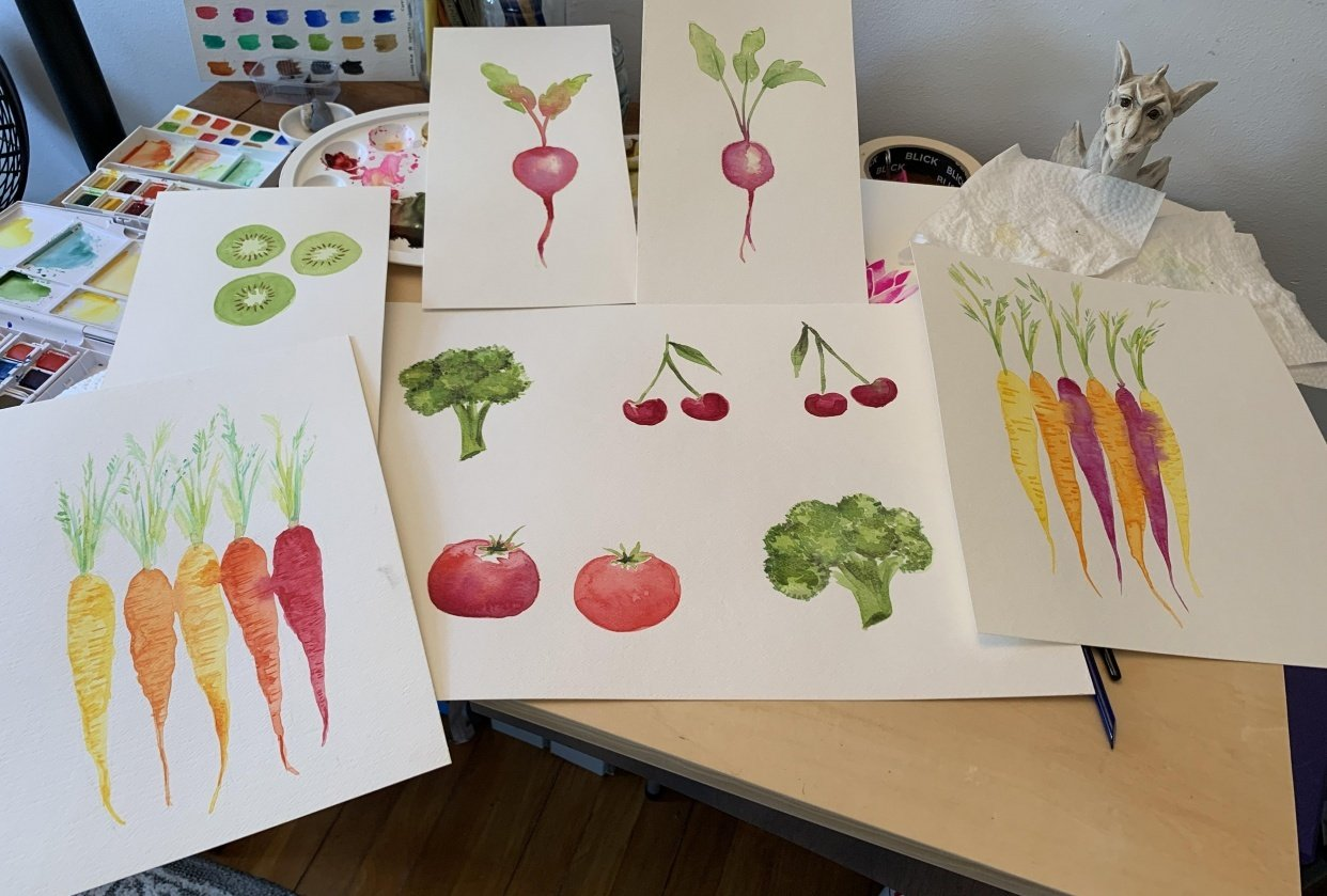 Robyn's veggies - student project