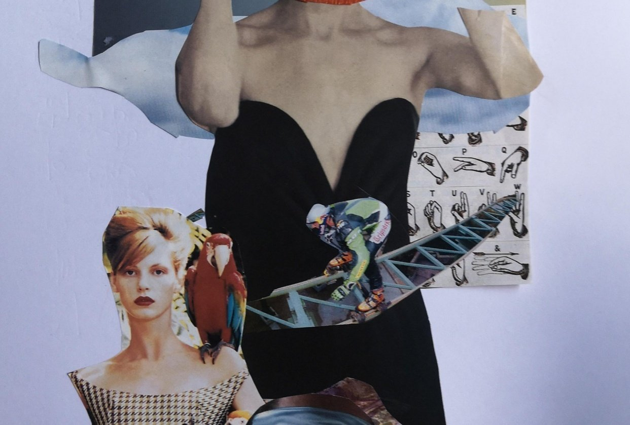 Collages - Art History for designers - student project