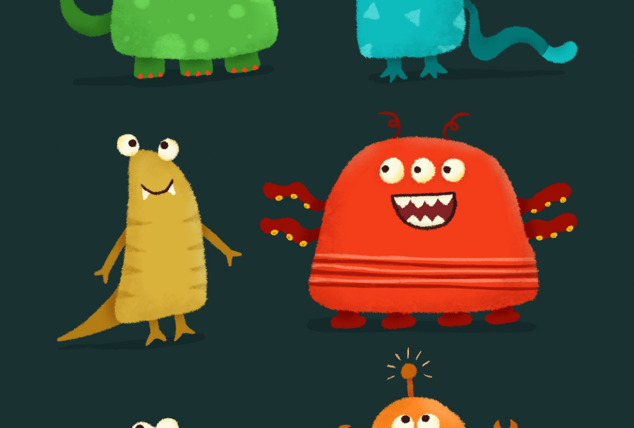 Monsters - student project