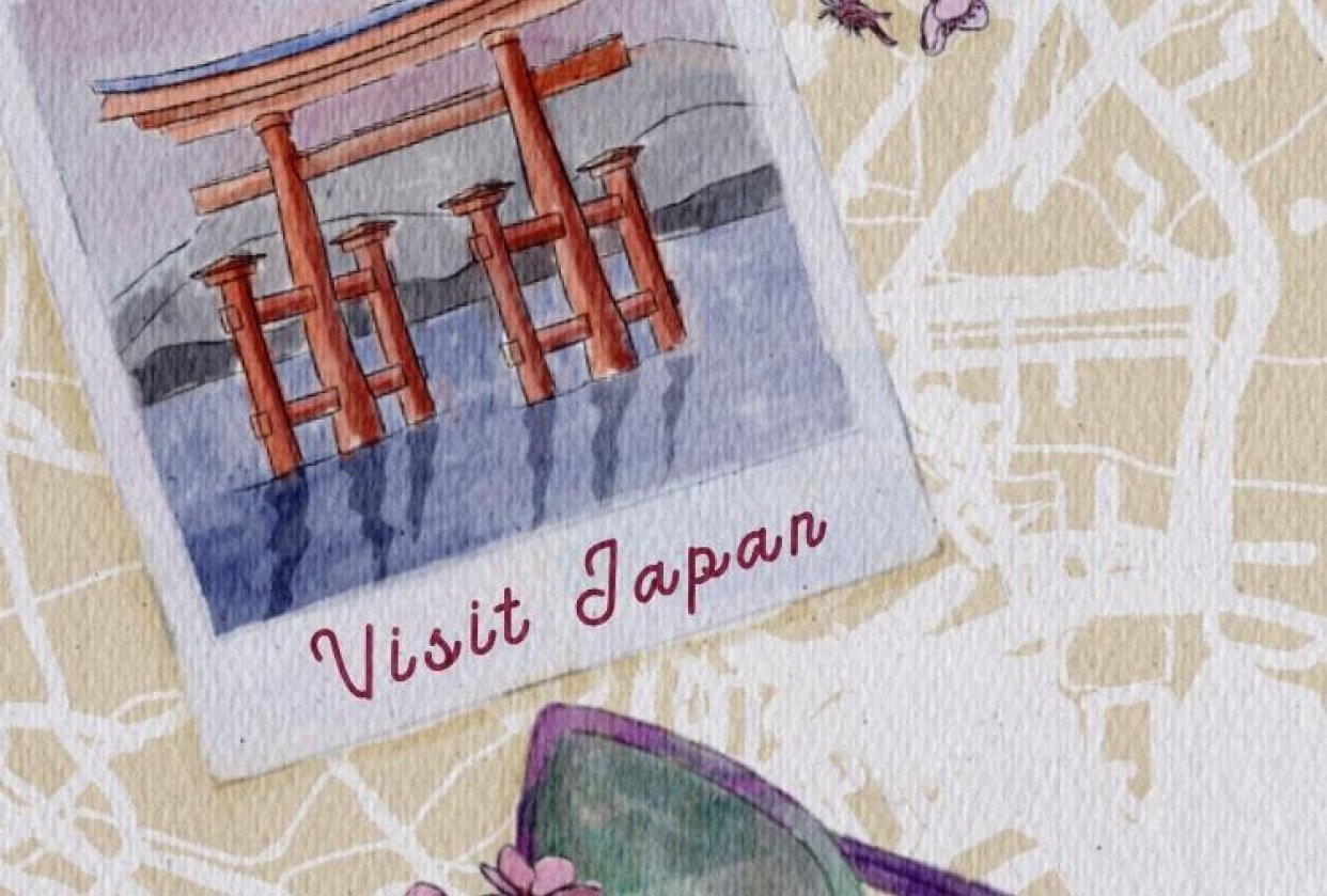 Travel Illustration - student project
