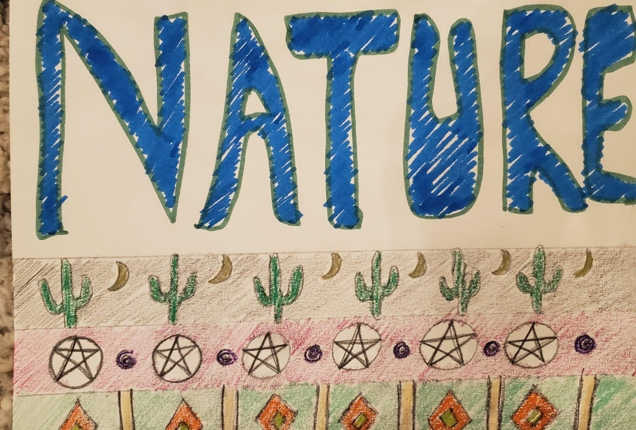 7 day nature journal - student project