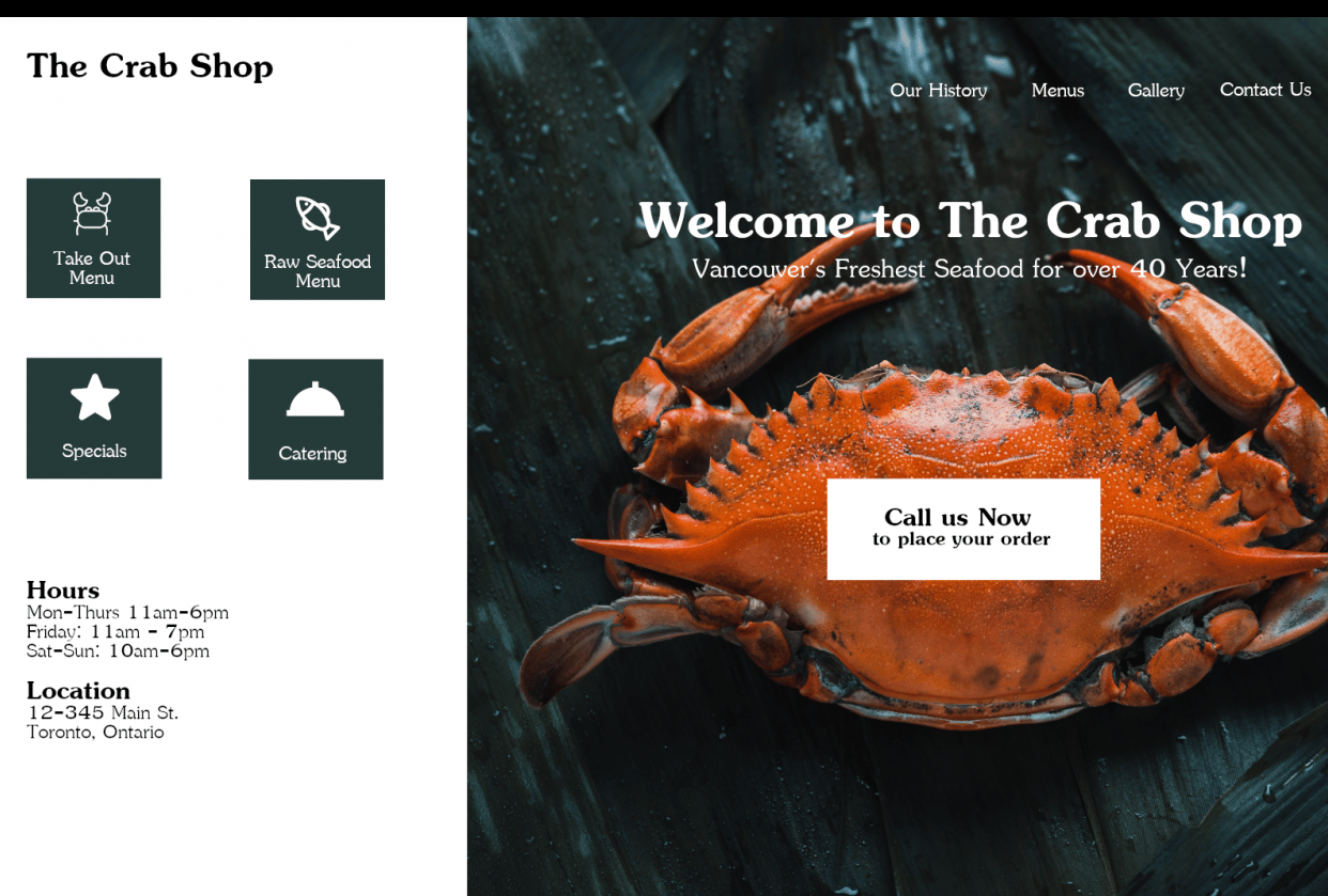 Creative Layout Design - student project