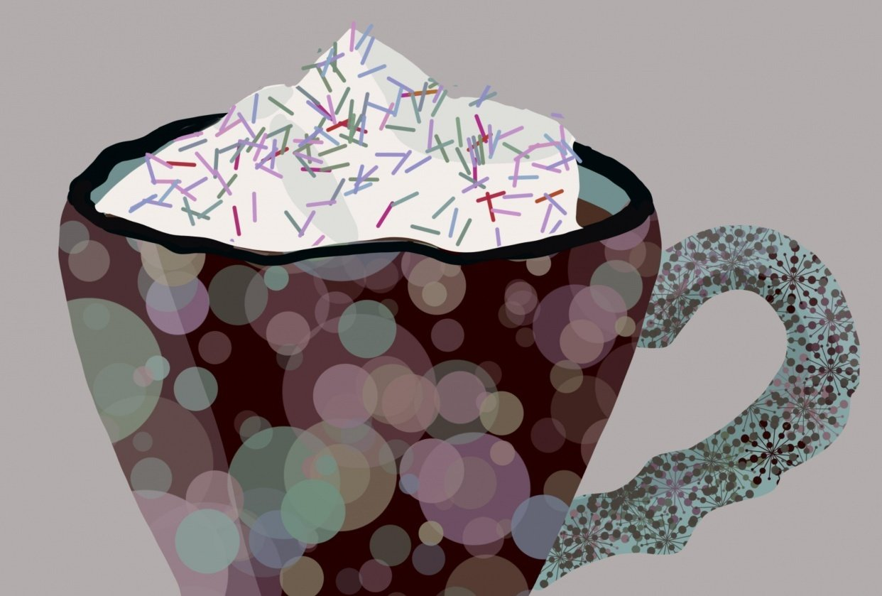 Dreamy Cuppa - student project
