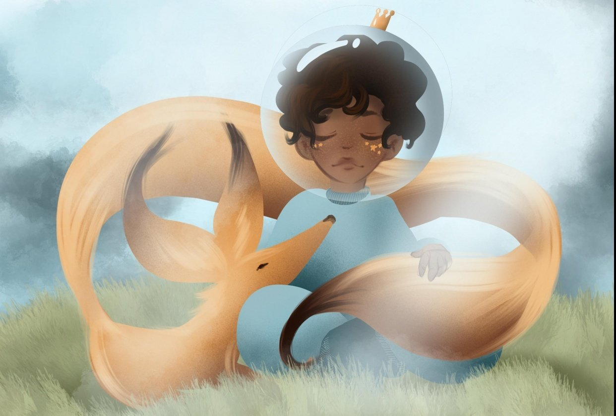 the little prince/astronaut - student project