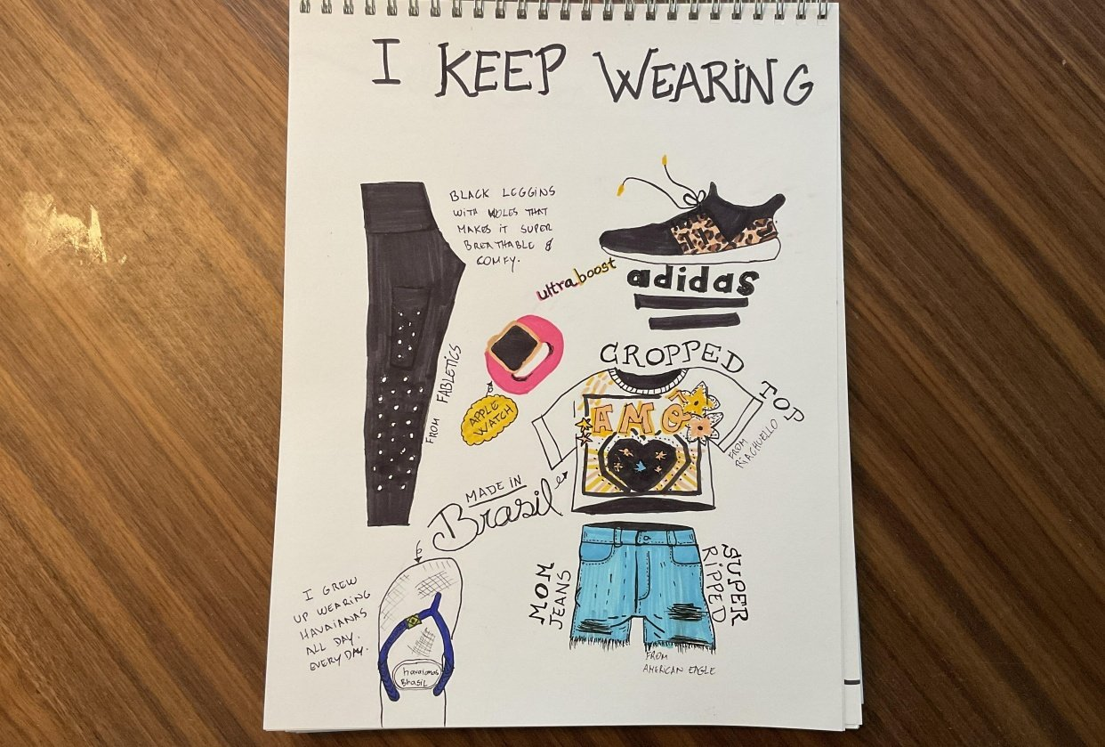 14 days of illustrated journal prompts - student project