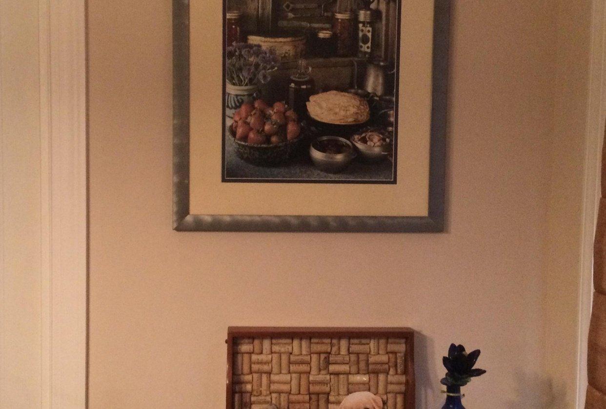 Kitchen wine rack - student project
