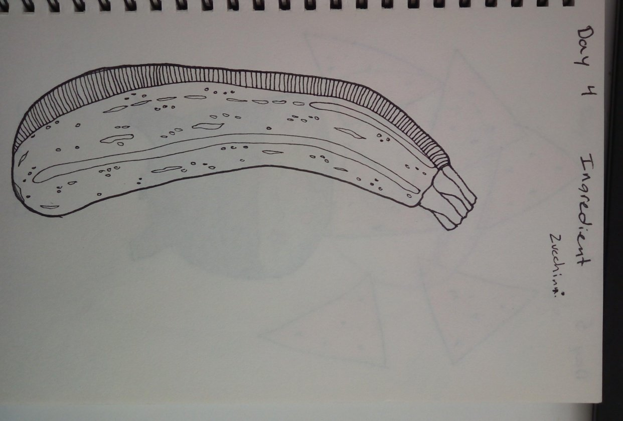 mindful eating/drawing - student project