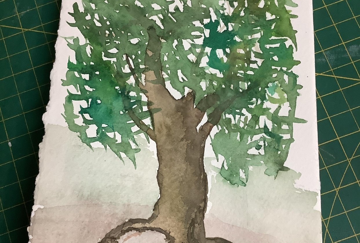 My first tree - student project