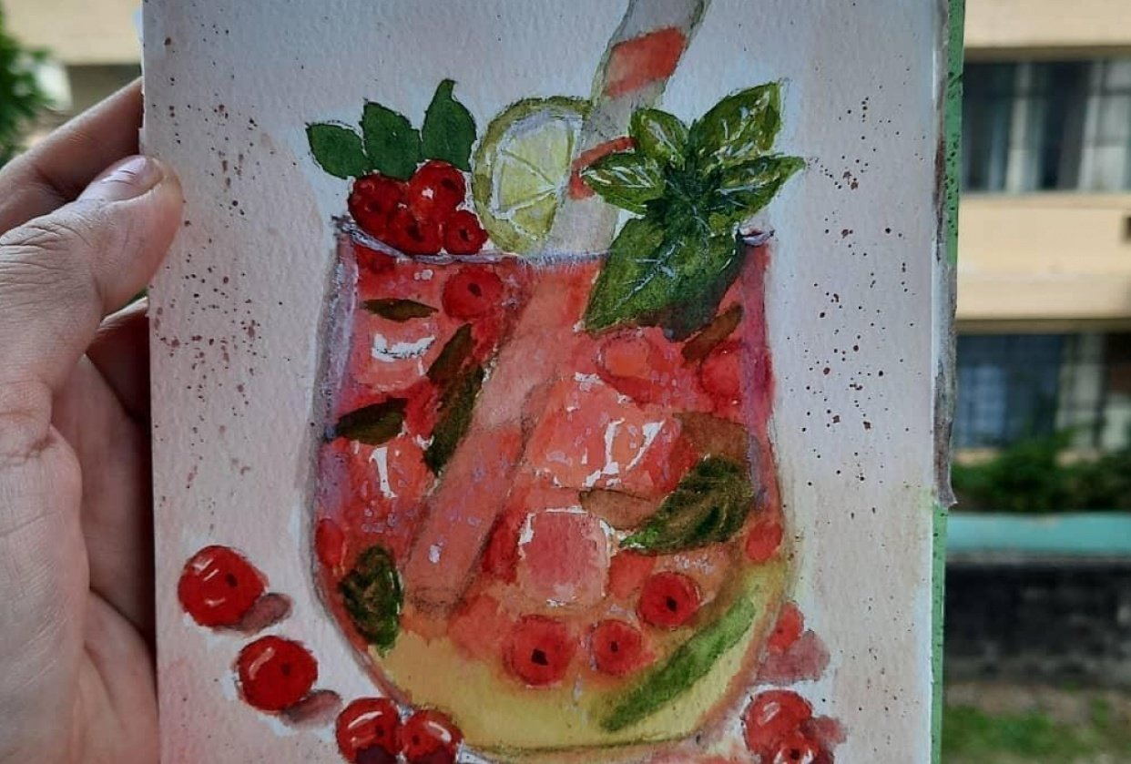 Fizzy Currant Drink - student project