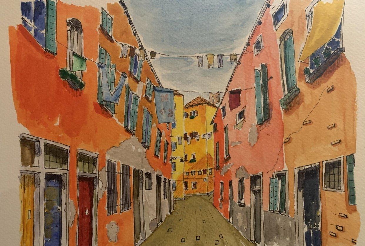 A street in Venezia - student project