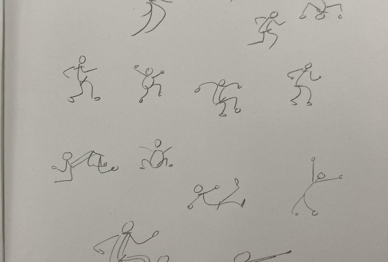 My first gestures - student project