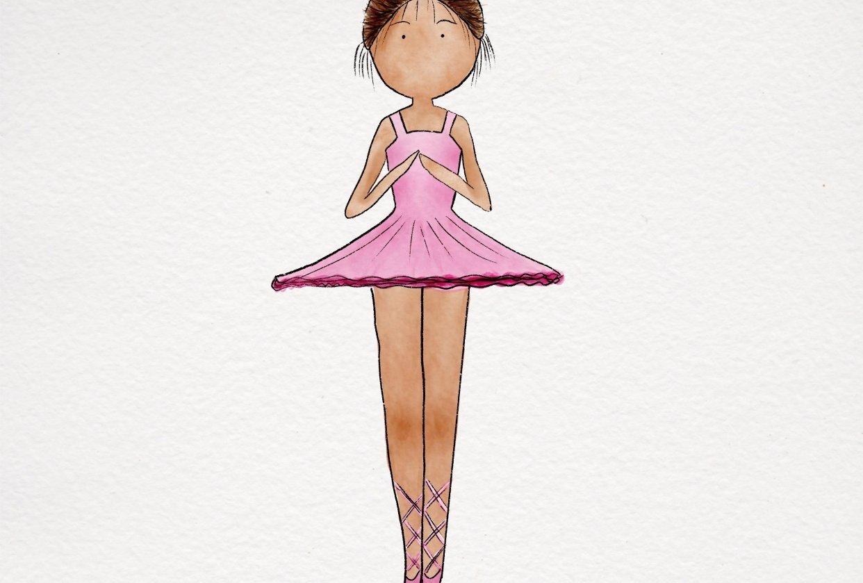 Little ballerina - student project