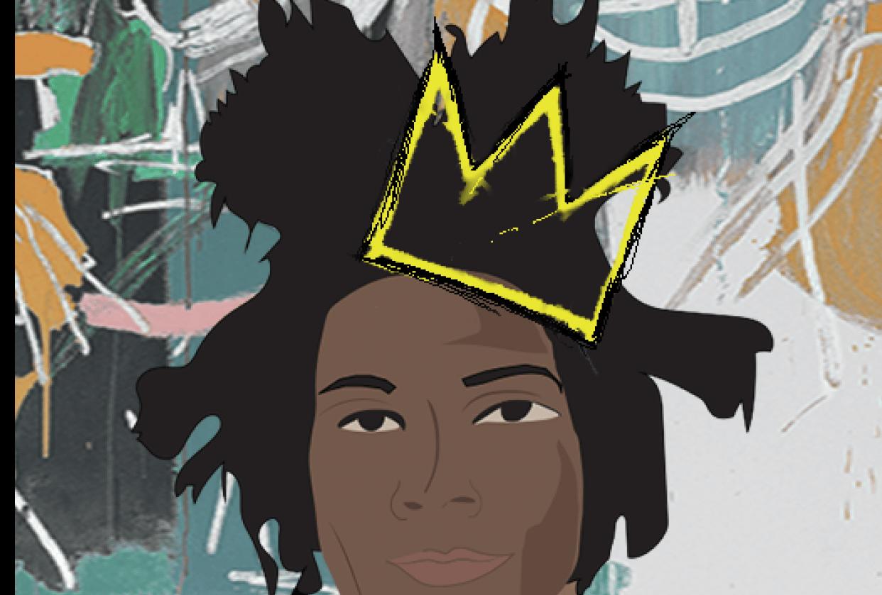 Jean-Michel Basquiat - student project