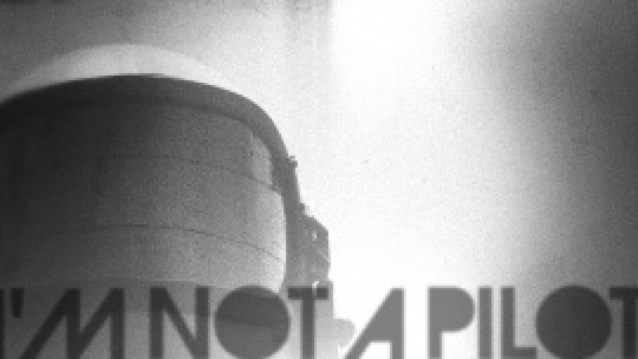 I'm Not a Pilot - Commemorative Show Poster - student project