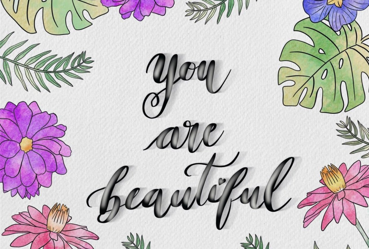 You are beautiful! - student project