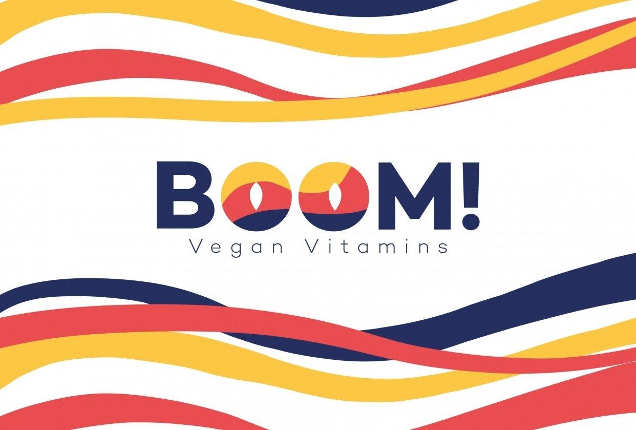 Boom! Vegan vitamins - student project