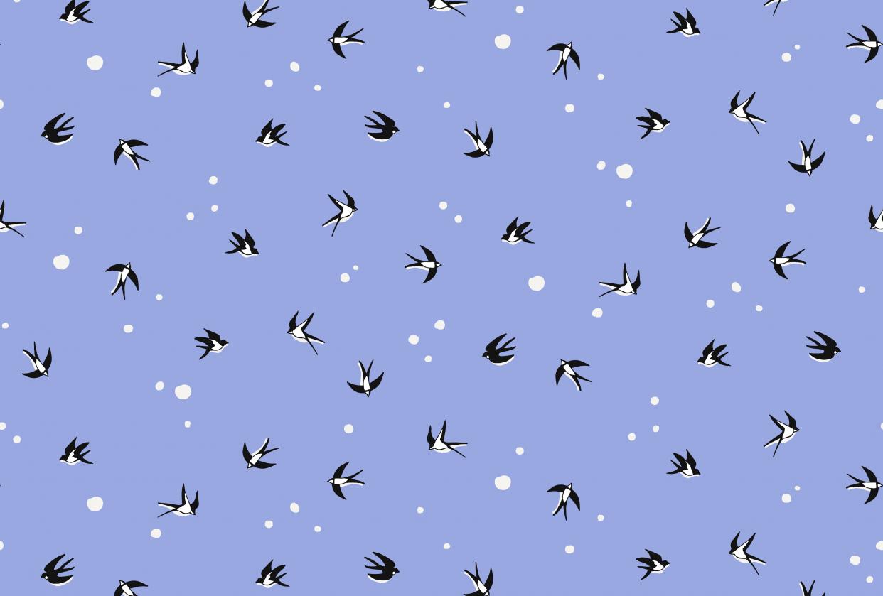 Pattern designer living by Markét - student project