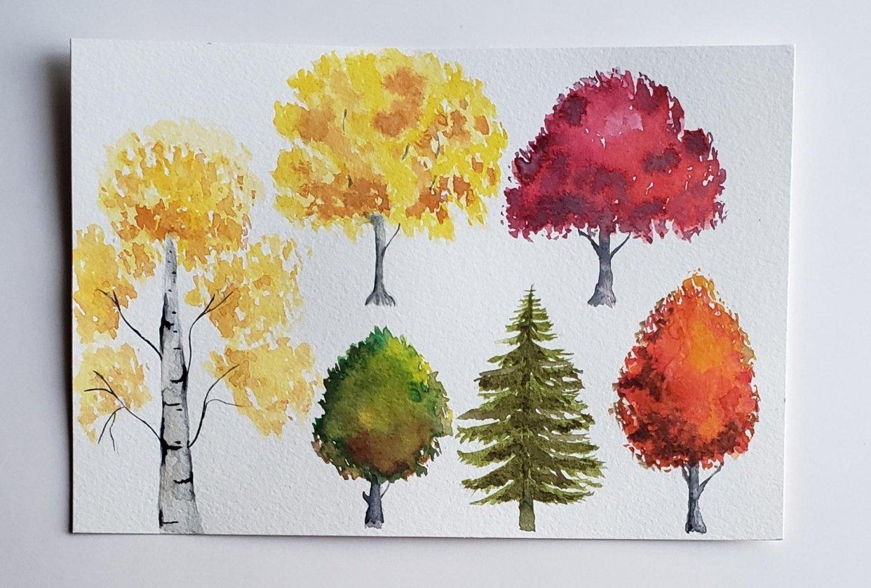 Árboles de otoño - student project