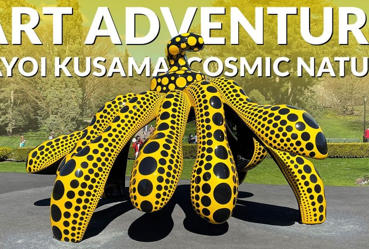 Trip to see Kusama exhibit - student project
