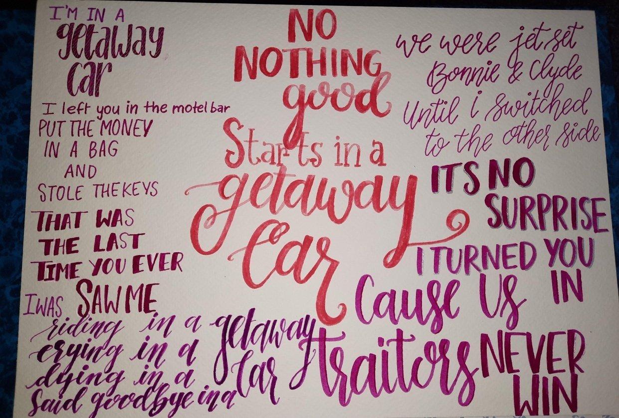 Getaway car - student project