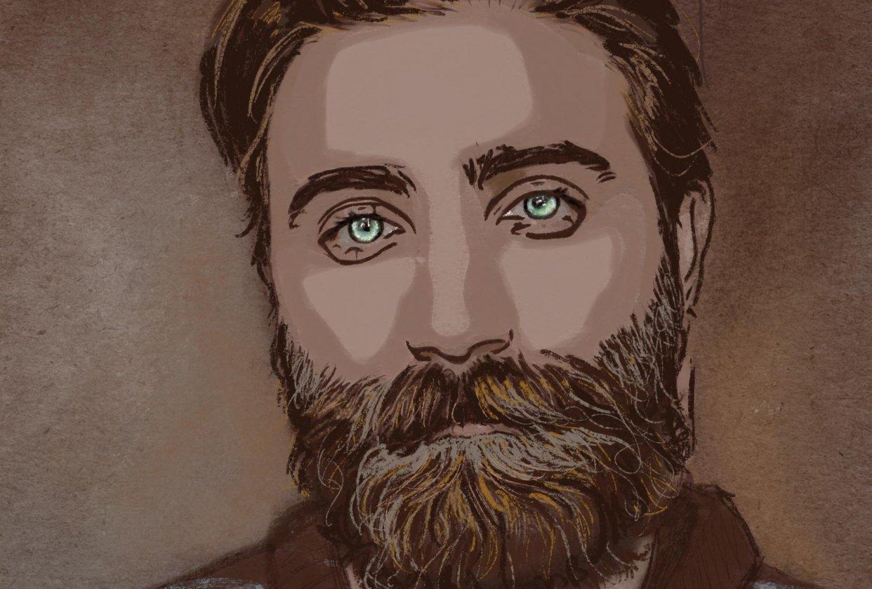 Pastel portrait - student project