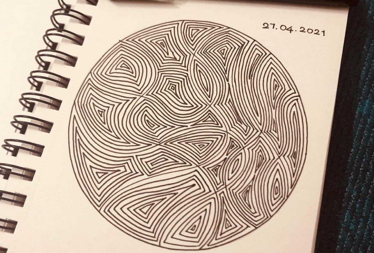 Shape pattern - student project