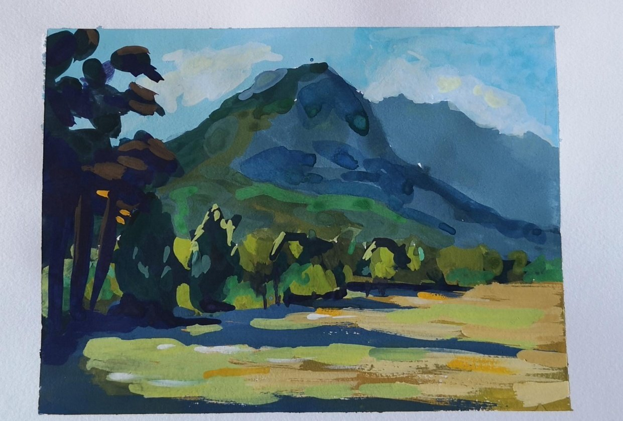 Cape mountains. - student project