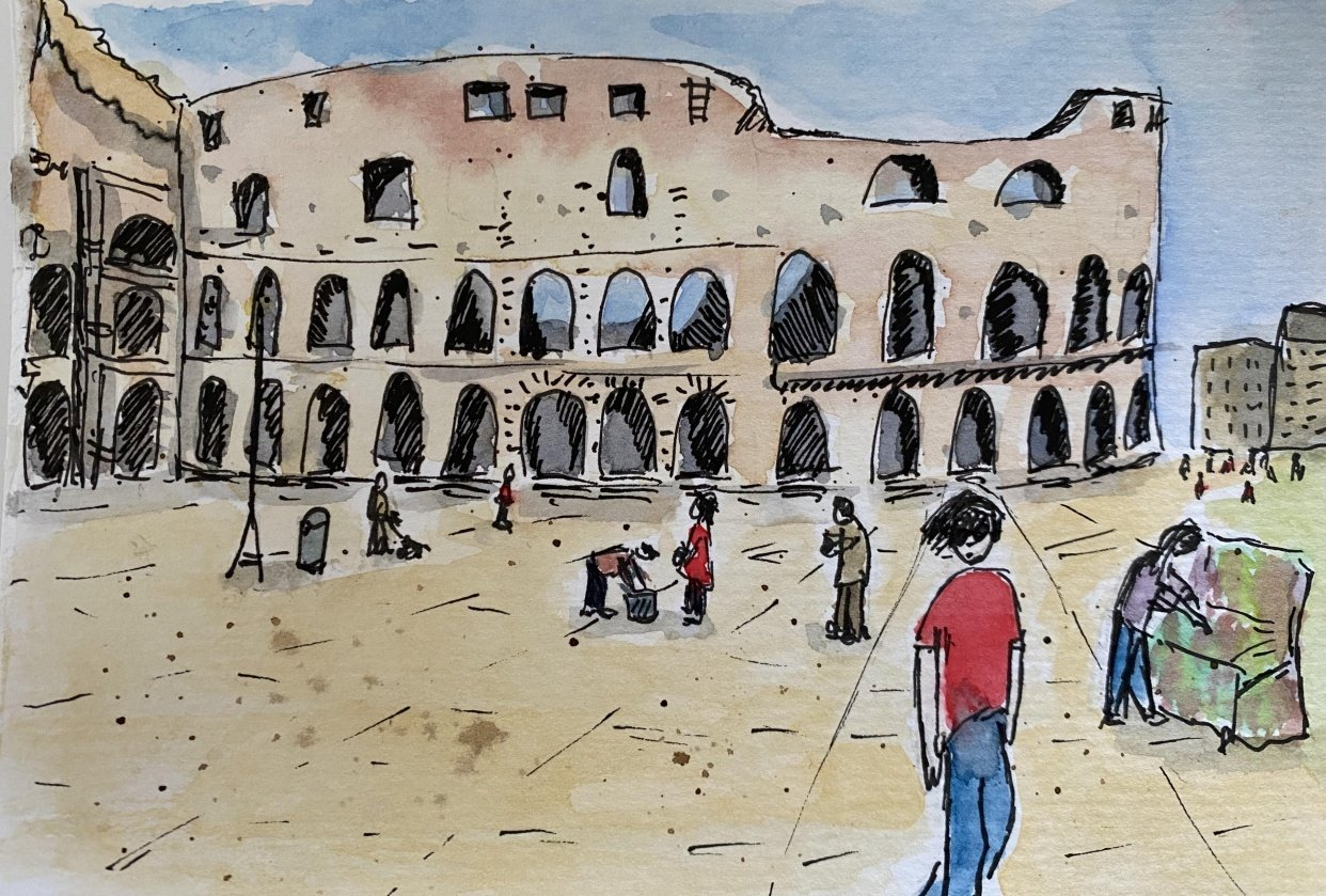 Colosseum - student project