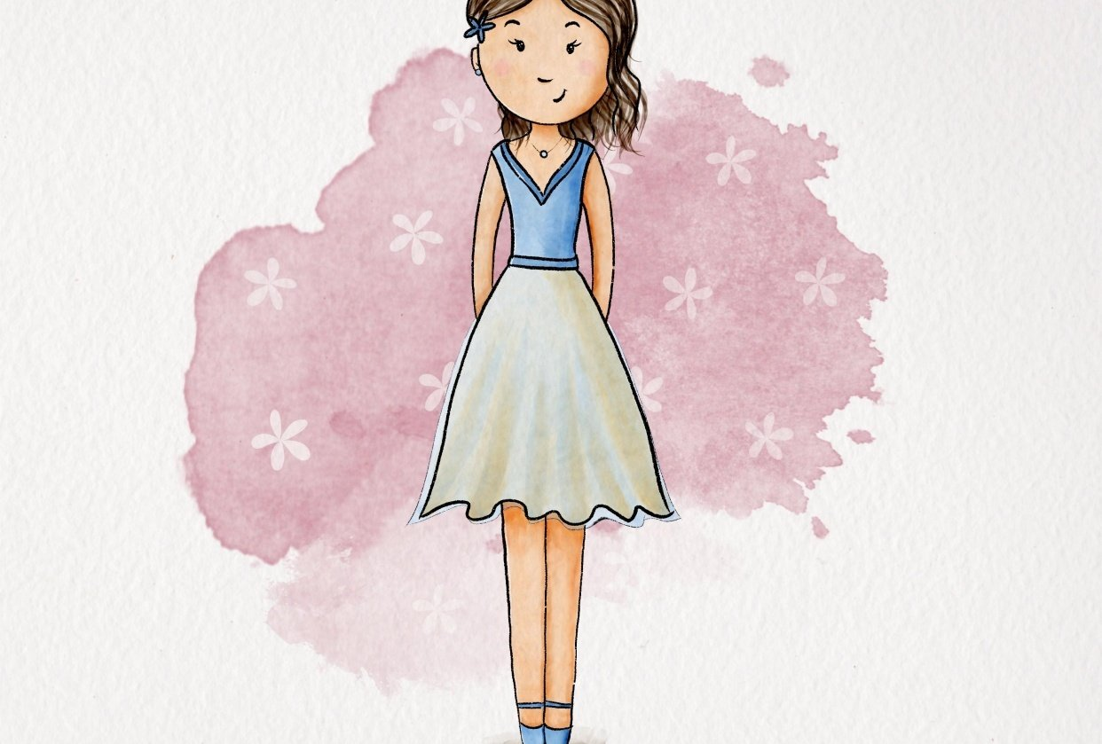 So cute style - student project