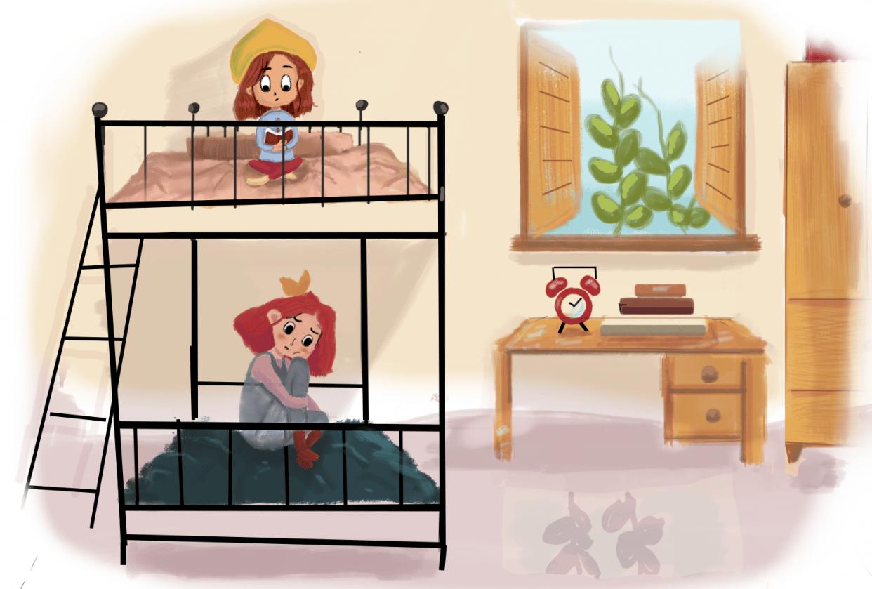 dorm room - student project