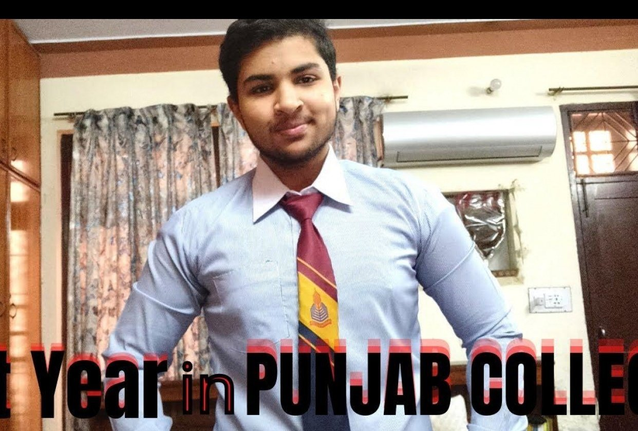 Story of 1st year in Punjab College - student project