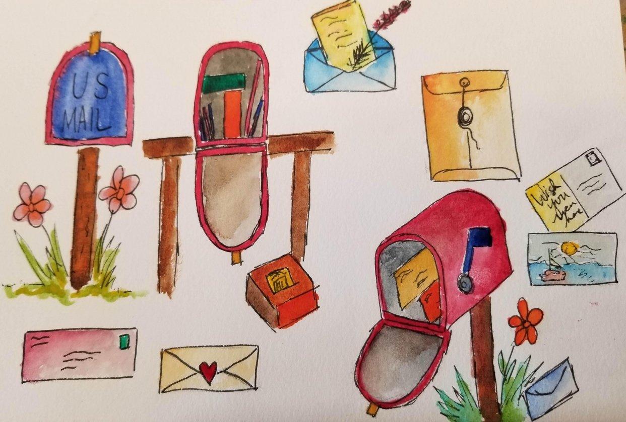 Sketchbook Stories - student project