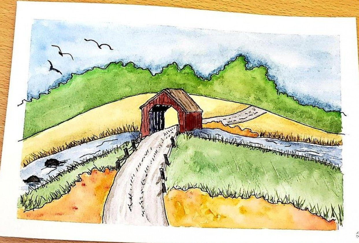 Covered Bridge - student project