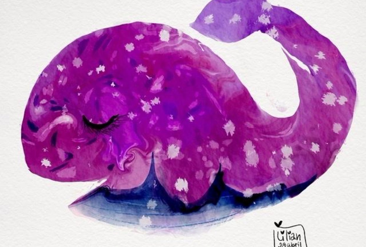 Pink Whale - student project