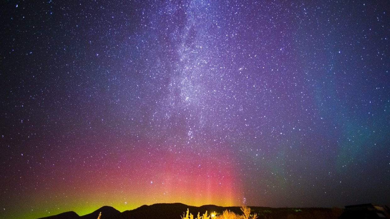 Astrophotography in Montana - student project