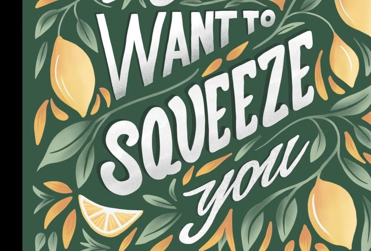 I just want to squeeze you - student project