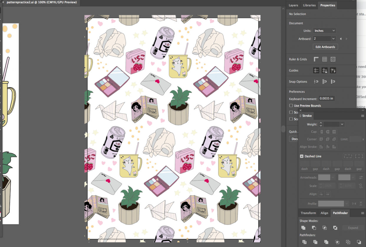 Pattern Tool Practice - student project